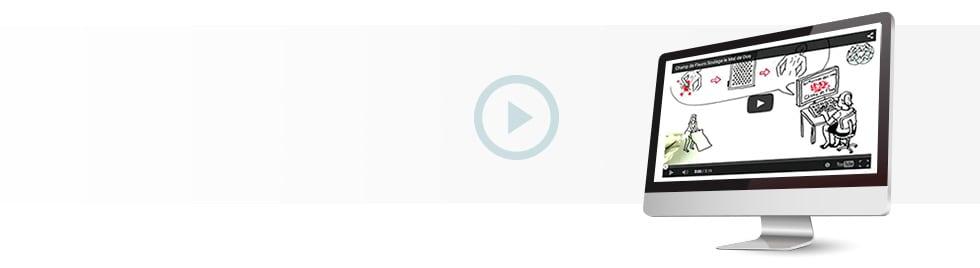 Bannière vidéo